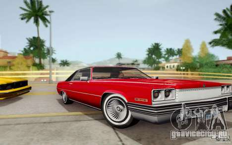 Manana from GTA 4 для GTA San Andreas вид сзади слева