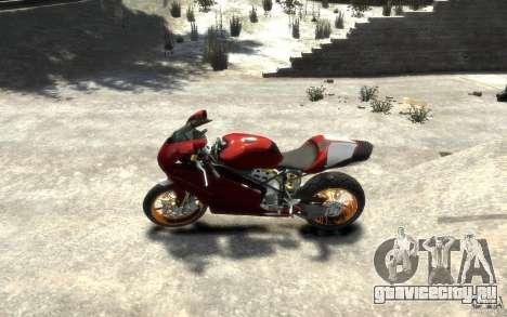 Ducati 999R для GTA 4 вид слева