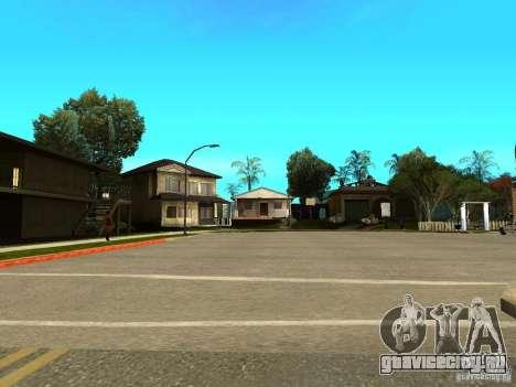New Grove Street TADO edition для GTA San Andreas шестой скриншот