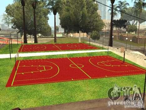 Баскетбольная Площадка для GTA San Andreas
