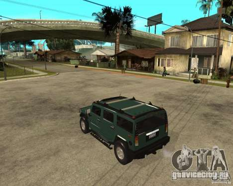 AMG H2 HUMMER SUV для GTA San Andreas вид слева