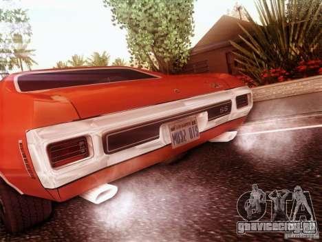 Chevy Chevelle SS 1970 для GTA San Andreas вид слева