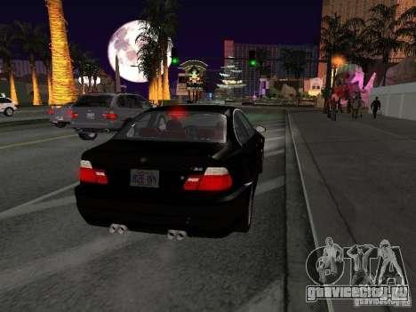BMW M3 GT-R Stock для GTA San Andreas вид справа