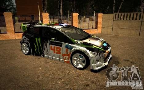 Ford Fiesta Gymkhana Four для GTA San Andreas