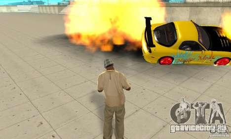 Сверхестественные способности CJ-я для GTA San Andreas четвёртый скриншот