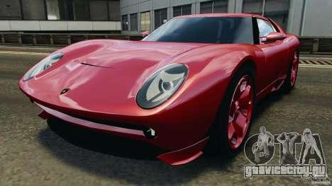 Lamborghini Miura 2006 для GTA 4