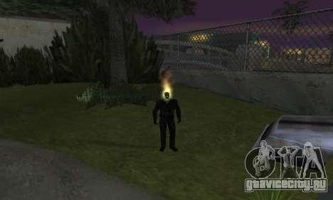Призрачный гонщик для GTA San Andreas четвёртый скриншот