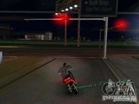 PIAGGIO NRG MC3 для GTA Vice City вид слева