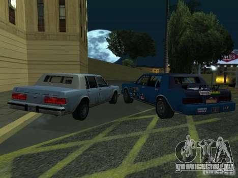 GreenWood Racer для GTA San Andreas вид сзади слева
