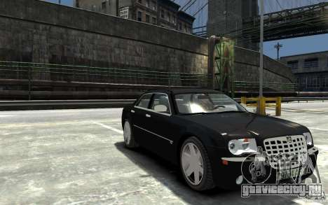 Chrysler 300C для GTA 4 вид сзади