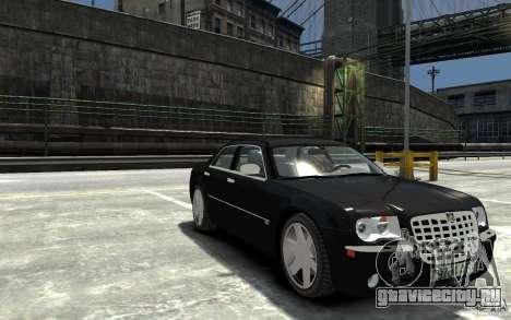 Chrysler 300C для GTA 4 вид сзади