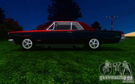 Pontiac GTO 1965 FINAL для GTA 4 вид слева
