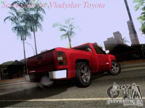 Chevrolet Cheyenne Single Cab для GTA San Andreas вид справа