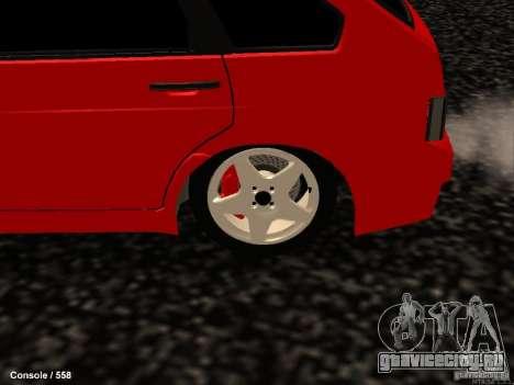 ВАЗ 2109 Turbo для GTA San Andreas вид сзади