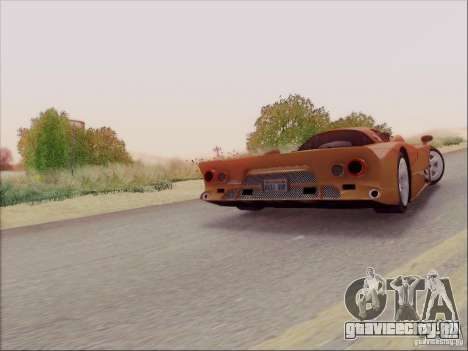 Nissan R390 Road Car v1.0 для GTA San Andreas вид сбоку