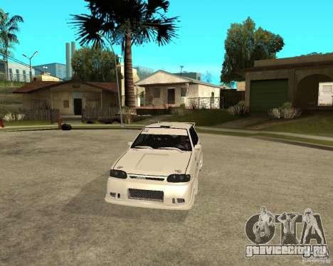 ВАЗ 2114 Меченный для GTA San Andreas вид сзади