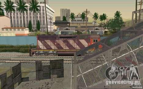 CN SD40 ZEBRA STRIPES для GTA San Andreas салон