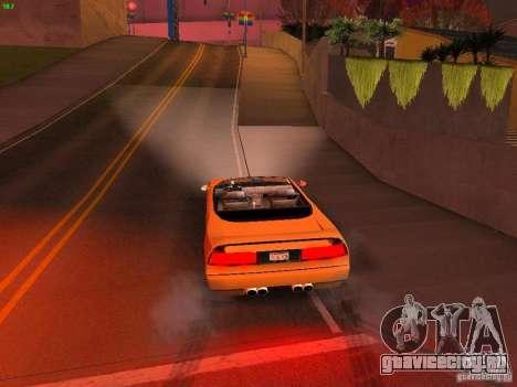 Infernus Revolution для GTA San Andreas вид сверху