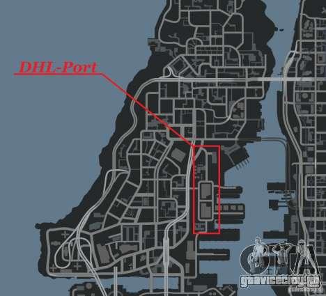 DHL-Port для GTA 4 шестой скриншот