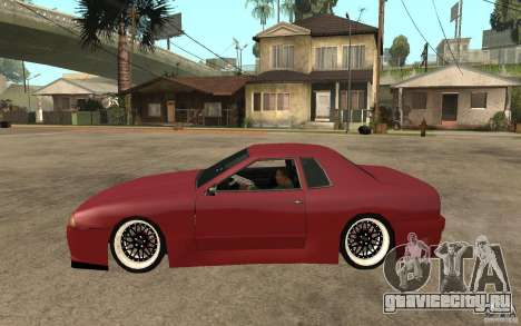 Elegy Modified для GTA San Andreas вид слева
