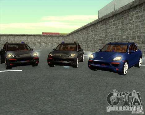 Porsche Cayenne 958 v1.1 для GTA San Andreas вид сбоку