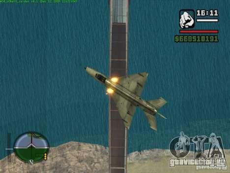 МиГ 21 new для GTA San Andreas вид слева
