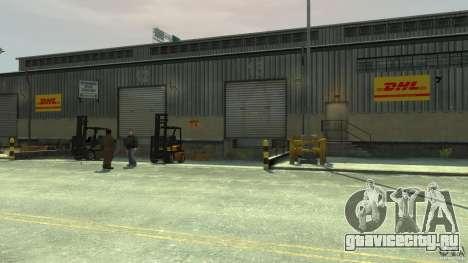 DHL-Port для GTA 4 пятый скриншот
