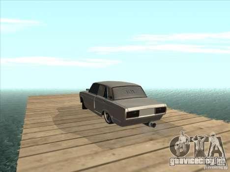 ВАЗ 2105 Light Tuning для GTA San Andreas вид сзади