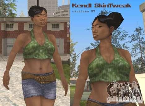 Ретекстуризация персонажей для GTA San Andreas пятый скриншот