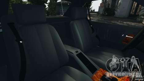 Mercedes-Benz SL 500 AMG 1995 [Final] для GTA 4 вид изнутри