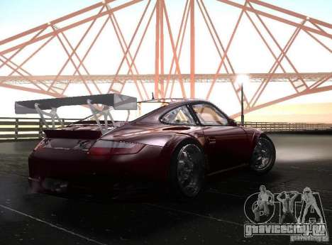 Porsche 911 GT3 RSR RWB для GTA San Andreas вид справа
