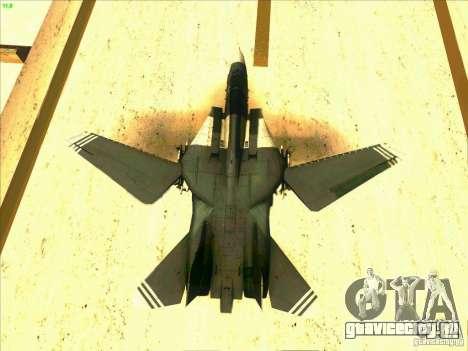 F-14 Tomcat Schnee для GTA San Andreas салон