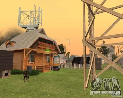 База в Гарели для GTA San Andreas четвёртый скриншот