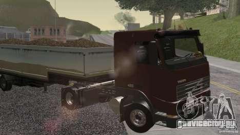 Volvo FH12 для GTA San Andreas вид сбоку