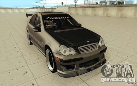 Mercedes-Benz C32 AMG Tuning для GTA San Andreas вид сзади