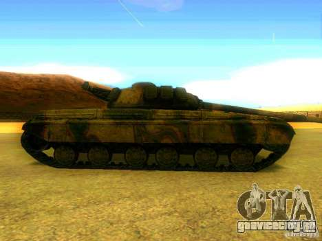 Танк из Игры S.T.A.L.K.E.R для GTA San Andreas вид слева