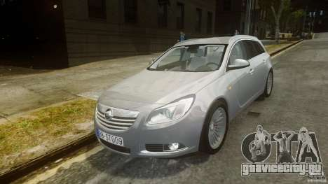 Opel Insignia Sports Tourer 2009 для GTA 4
