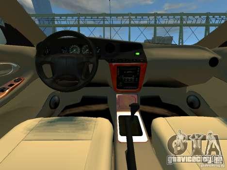 Daewoo Leganza CDX для GTA 4 вид сзади