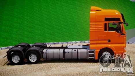 MAN TGX V8 6X4 для GTA 4 вид изнутри