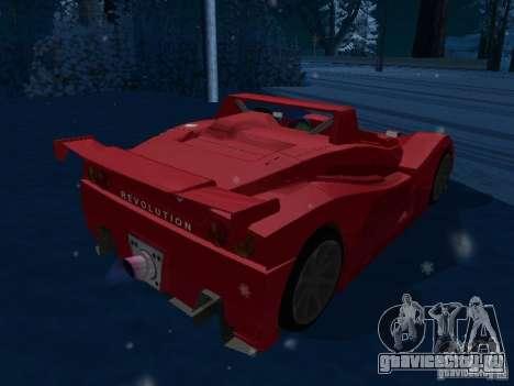 Lada Revolution для GTA San Andreas вид сзади слева
