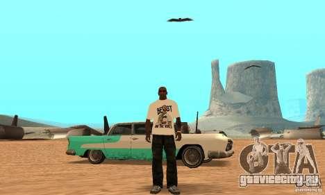 Футболка WWE CM Punk для GTA San Andreas третий скриншот
