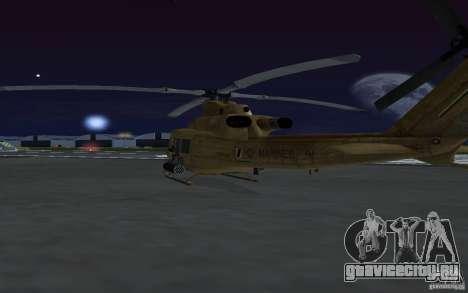UH-1Y Venom для GTA San Andreas вид изнутри