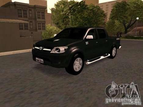 Toyota Hilux SRV 3.0 4X4 Automatica для GTA San Andreas