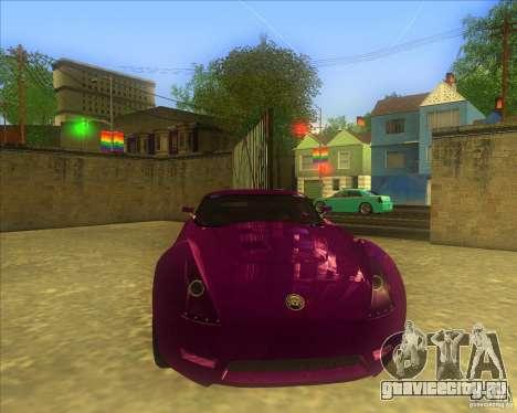 Melling Hellcat для GTA San Andreas вид слева