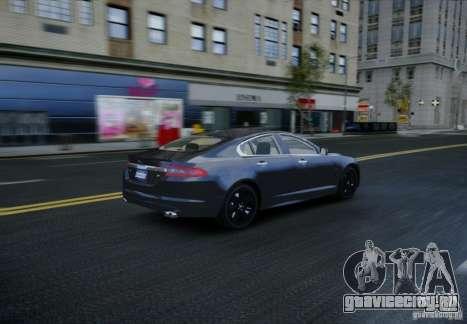 Jaguar XFR 2010 V.2.0 для GTA 4 вид сбоку