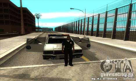 Police Hero v2.1 для GTA San Andreas вид изнутри