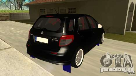 Suzuki SX4 Rally Tuning для GTA San Andreas вид справа