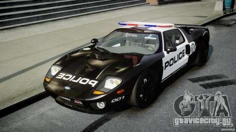 Ford GT1000 Hennessey Police 2006 v1.0 для GTA 4