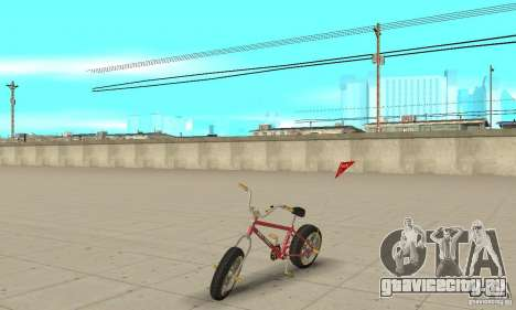 BMX Long 2 New Wheel для GTA San Andreas