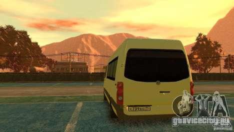 Volkswagen Crafter для GTA 4